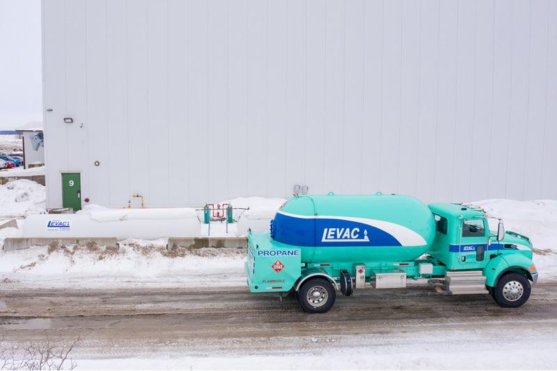 camion Propane Levac